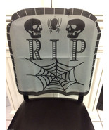 Haunted House-RIP SKULL TOMBSTONE CHAIR COVER-O... - $3.93