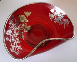 Viking New Martinsville Epic Bowl Dish RUBY RED... - $29.98
