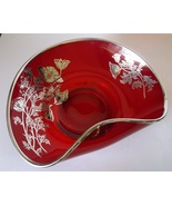 Viking New Martinsville Epic Bowl Dish RUBY RED... - £22.81 GBP