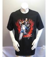 Vintage WWE Shirt - Undertaker Big Evil Biker Taker - Mens Extra Large  - $98.00