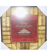 """Fabricator Created 2009 12"""" Chateau Lirieur Bordeaux  Brown New Wall Pla... - $22.00"""