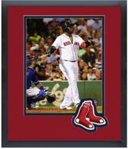 David Ortiz 2015 Boston Red Sox - 11 x 14 Team Logo Matted/Framed Photo - $42.95