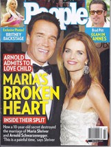 ARNOLD SCHWARZENEGGER & MARIA, BRITNEY, BRAD PITT @ People Magazine MAY ... - $4.95