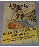 Liberty Magazine March 12, 1938 President Roosevelt - $11.95