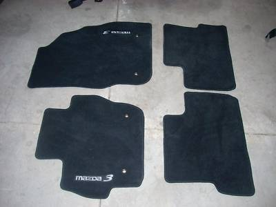 mazda floor mats floormatscarpet black carpet