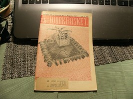 3# Vintage The Workbasket Knit/Crochet and Craft Magazine August, 1961 - $5.93