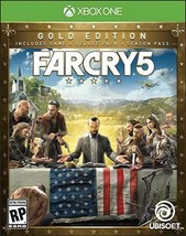 Far Cry 5 Steelbook - Xbox One Gold Edition NEW! - $128.69