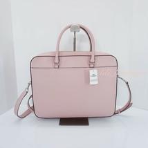 NWT Coach F39022 Women Laptop Bag Crossbody Briefcase Leather Carnation ... - $159.95