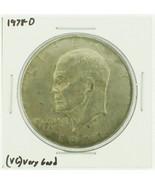 1978-D Eisenhower Dollar RATING: (F) Fine (N2-4340-12) - $3.00