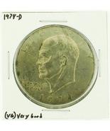 1978-D Eisenhower Dollar RATING: (F) Fine (N2-4340-13) - €2,44 EUR