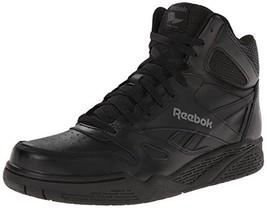 Reebok Men's ROYAL BB4500H XW Fashion Sneaker, Black/Shark, 13 4E US - $53.32