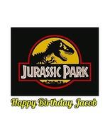 Jurassic Park Dinosaur Jurassic World Edible Image Photo Sugar Frosting ... - $161,13 MXN
