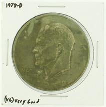 1978-D Eisenhower Dollar RATING: (F) Fine (N2-4340-19) - £2.40 GBP