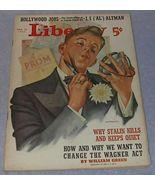Liberty Magazine March 18, 1939 Hitler Stalin - $11.95