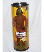 Planet of the Apes GORILLA SOLDIER w/Rotating Display Stand NEW! 1999 - $18.50