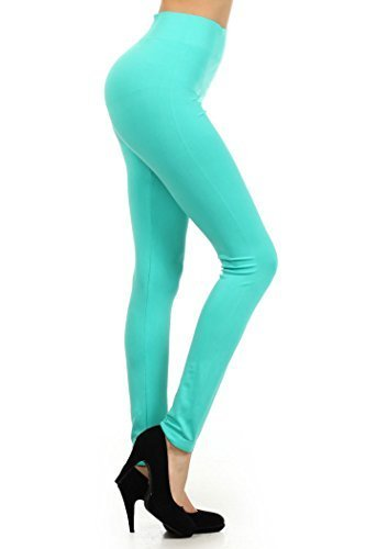Primary image for ICONOFLASH Women's Casual Solid Color Seamless Legging (Mint, One Size)