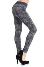 Fashion MIC Skinny HoundsTooth Plaid Fashion Pants (medium, black) - $39.59