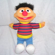 "Fisher Price Sesame Street ERNIE Plush Doll 15"" From 2009 - $9.96"