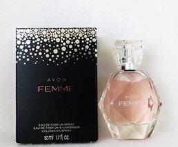 AVON ~ Femme EDP 1.7 fl. oz. Perfume and Lotion ~ Rich Jasmine petals in... - $29.39