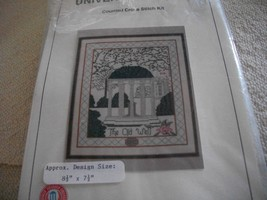 The Old Well Counted Cross Stitch Kit - $14.00