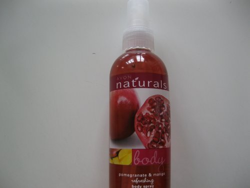 Primary image for Avon Naturals Body Spray Pomegranate & Mango 8.4 fl.oz. [Misc.]