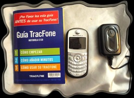 Motorola TracFone C139 BLACK All Cell Phones Power Up - $198,88 MXN