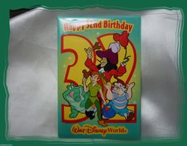 Walt Disney World Happy 32nd Birthday Button Pin - $4.95