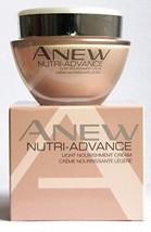 Avon Anew Nutri-Advance Light Nourishment Cream 50ml - 1.7oz Nutri - Advance - $15.68
