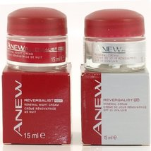 Avon Anew Reversalist 40+ Moderate Signs Of Ageing- Renewal DAY & NIGHT Cream... - $19.59