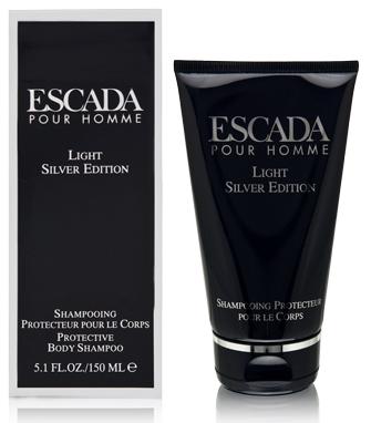 ESCADA LIGHT SILVER EDITION Men 5.1oz BODY SHAMPOO Fragrance Perfume Cologne NIB