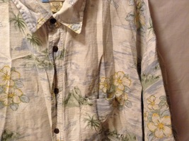Big Dogs Mens Hawaiian Short sleeve Shirt, Size 3XL