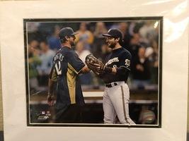 Photo File Ryan Braun Milwaukee Brewers Matted MLB Photograph - $25.00