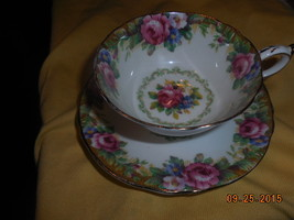 Paragon Tapestry Rose cup and saucer & side plate..bone china England Free Ship  - $54.99