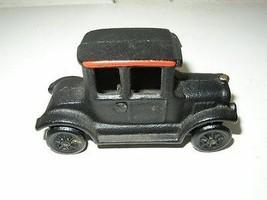 Vintage, Black Cast Iron 1920-40s Automobile - $23.70