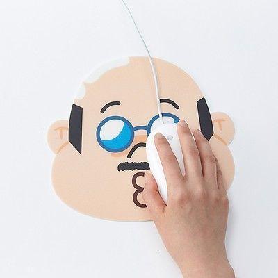 Korea Naver LINE Friends BOSS Character Mouse Pad Desktop Computer Acc Laptop