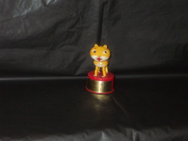 Vintage KOHNER Candy The Cat Push Puppet Toy Push Button - $9.99