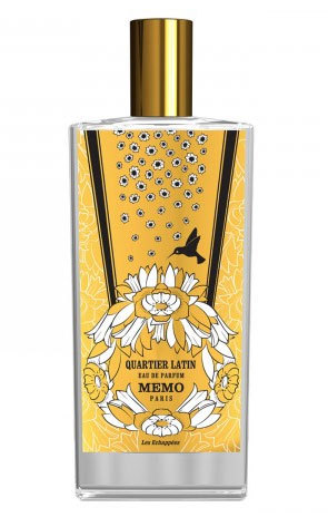 QUARTIER LATIN by MEMO PERFUME 5ml TRAVEL SPRAY AMBER CEDAR MUSK