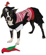 Zack & Zoey Pirate Tails Costume, X-Small - £26.57 GBP