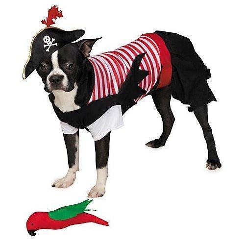 Zack & Zoey Pirate Tails Costume, X-Small