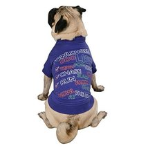 Zack & Zoey Polyester/Cotton Halloween to Doo List Print Dog Tee, X-Large - $24.95