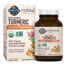 mykind Organics Extra Strength Turmeric Inflammatory Response 60 Tabs  - $89.39