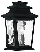 Livex Lighting 20256-04 Hathaway 2-Light Outdoor Wall Lantern, Black - $74.92