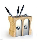 THINK BIG Oversized Sharpener Design Pencil Pen Paper Clip Holder cup new - €42,15 EUR