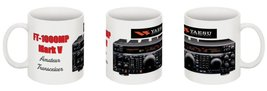 Yaesu FT-1000MP Mark V Amateur Radio Coffee Mug - Limited Quantities!  - $11.99