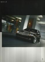 2009 Lincoln MKZ sales brochure catalog US 09 Zephyr - $8.00