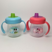 MICKEY & MINNIE SIPPY CUPS - $9.99