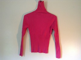 Juniors Long Sleeve Bright Pink Turtleneck No Boundaries Size Large 11 to 13