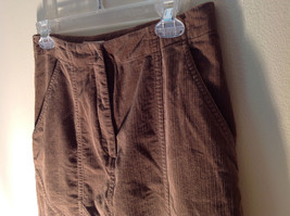 Brown Maxi Skirt by Christopher and Banks Stretch Front Zipper 2 Pockets Size 4 image 5