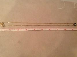 "Caribbean aqua blue Elly Preston Faceted Thai Crystal Pendant Necklace 22"" Long image 12"