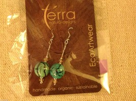 Shade choice LARGE acai seed earrings by Terra help sustain amazon rainforest image 4